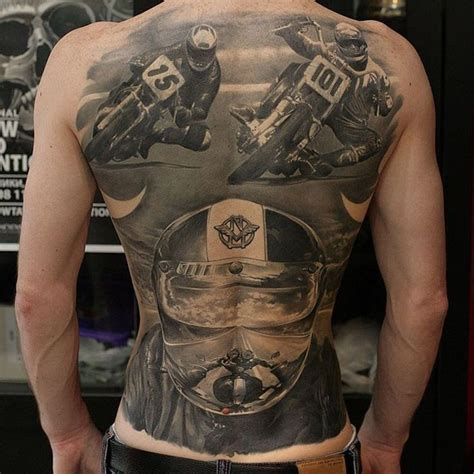 racing tattoo 365 best images about on on back ink and back