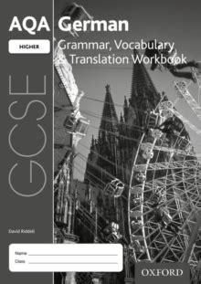 aqa gcse german higher grammar vocabulary translation workbook pack of 8 david riddell