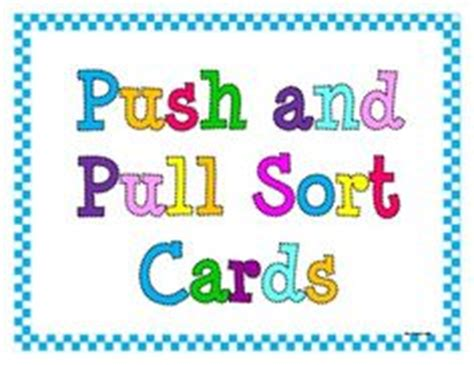 push and pull card template 1000 images about balance and forces on