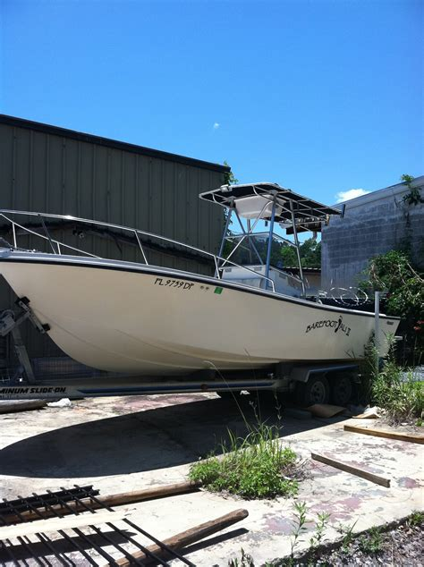 fishing boat hull only 23 mako center console hull only the hull truth