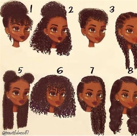 different hairstyles for curly hair for school animation braids curls image 5025630 by sharleen on favim