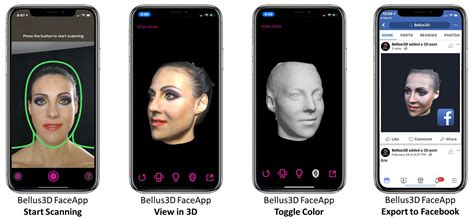 bellus3d uses the iphone x s truedepth to 3d scan your digital photography review
