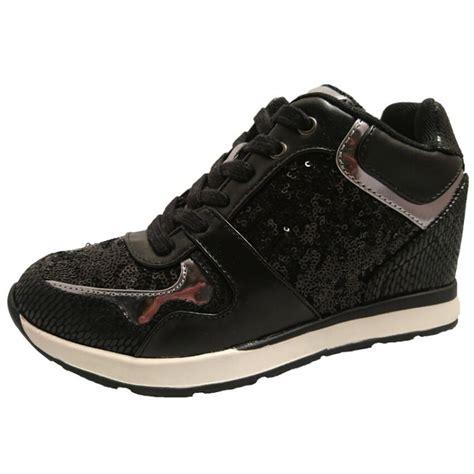 sneakers alte con zeppa interna sneaker donna con zeppa interna guess scarpe