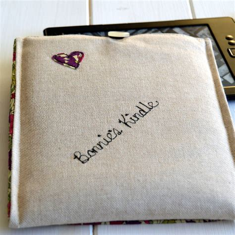 Handmade Kindle Cover - handmade personalised kindle by handmade at poshyarns