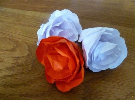 How To Make Roses Out Of Paper Easy - make a easy paper 183 how to make a paper flower