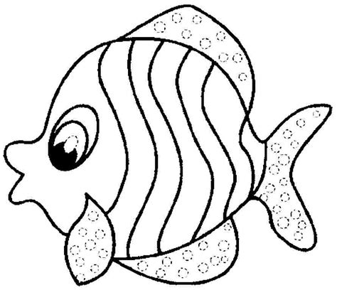 fish coloring page pdf fish coloring pages for preschool preschool and kindergarten