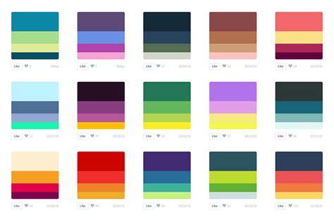 color hunt barvne palete arhiv pomagalnik