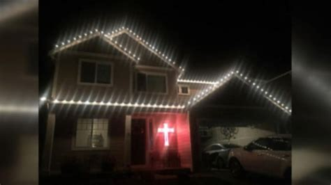 firefighter christmas lights christmas decore