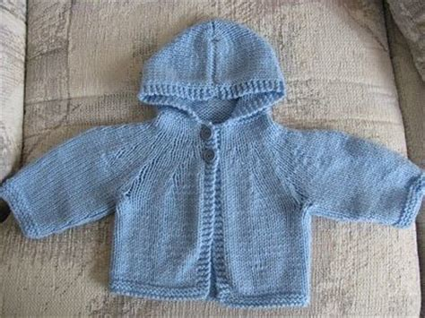 baby hooded sweater knitting pattern the world s catalog of ideas