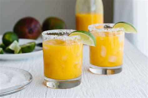 Mango Margarita No Sugar Added Downshiftology