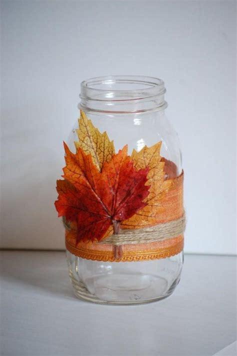 autumn twine mason jar fall shabby chic home decor rustic fall wedding decor thanksgiving