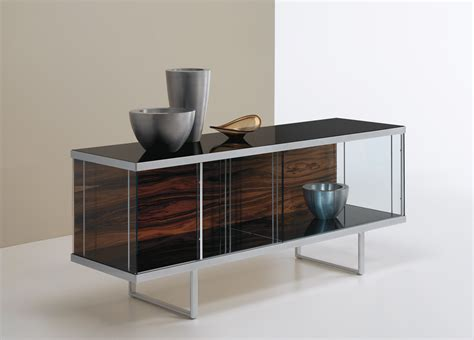 Glass Sideboards tonelli broadway low glass sideboard sideboards contemporary furniture