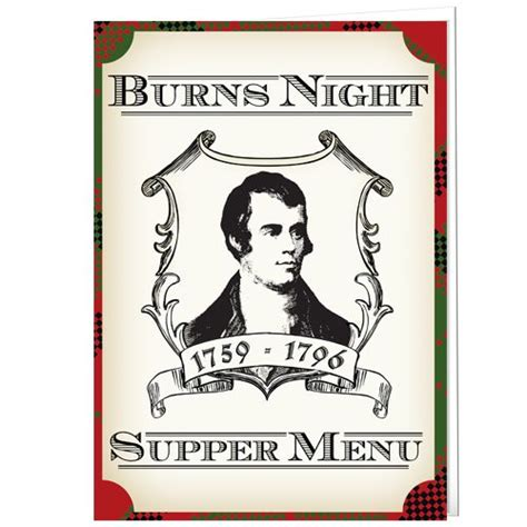 burns menu template 19 best images about burns on