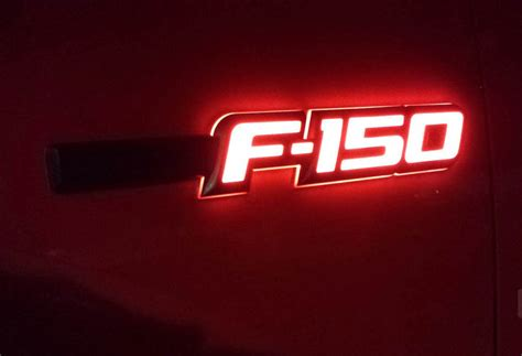 2009 2014 F150 Recon Illuminated Side Emblems 264282