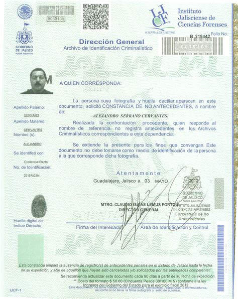 certificado de no antecedentes penales en mxico antecedentes penales share the knownledge