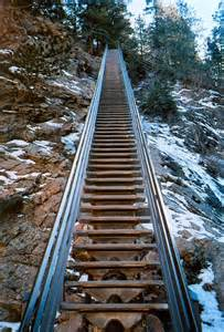 Colorado Springs Stairs by Panoramio Photo Of Second Flight Of Stairs Besides The