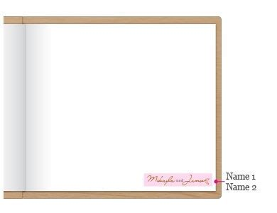 Be A Guest Product Reviewer by Woodland Pretty Personalized Wooden Guest Book Weddingstar