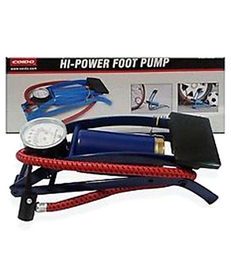 c with foot pump coido foot air pump compressor 8cm single cylinder for