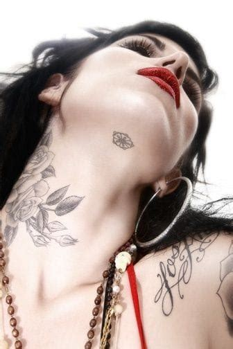 neck tattoo feminine 20 feminine tattoos tattoodo