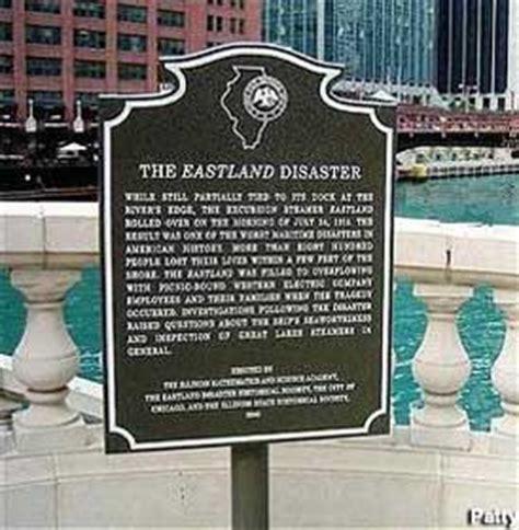 eastland disaster plaque chicago illinois