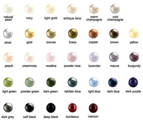 color pearl help me with jewelry color for white
