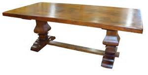 Big Wood Dining Table Big Solid Wood Dining Table 84 Quot