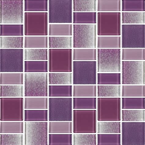 fliese lila fusion purple glass mosaic tiles rocky point tile