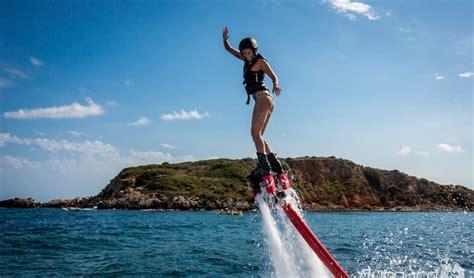 waterscooter besturen flyboard nieuws