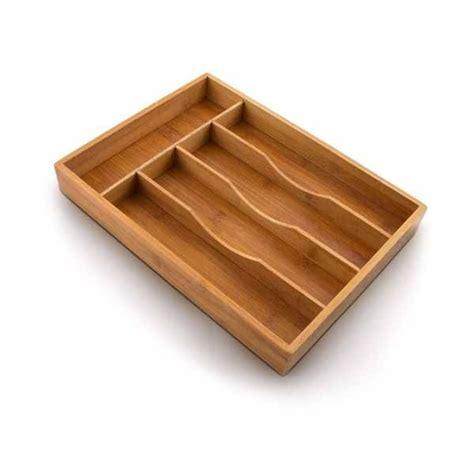 separatori cassetti porta posate da cassetto accessori cucina in legno bambu