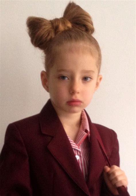 hairstyles for school uk primary schoolgirl 4 left in tears after teachers refuse
