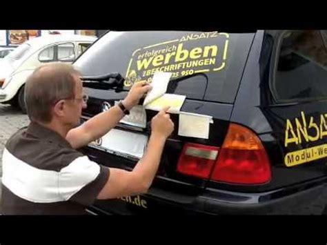 Bvb Aufkleber Heckscheibe by Autoaufkleber Anbringen