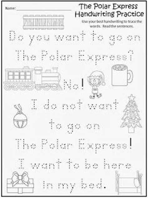 printable version of polar express 17 best images about polar express day on pinterest