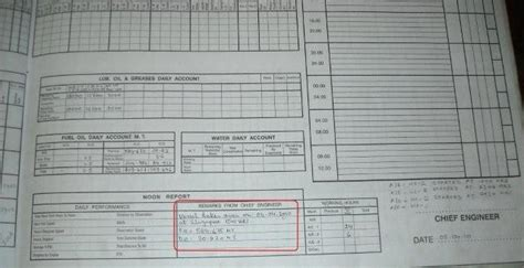 Important Points For Logbook Keeping On Ships Part 1 Vessel Logbook Template