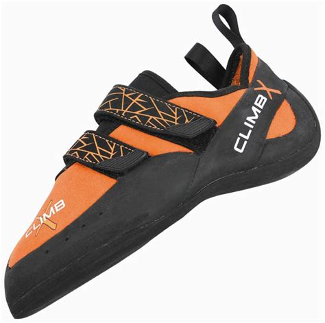 rock climbing shoes uk climb x velcro rock climbing shoes uk 7 orange grey