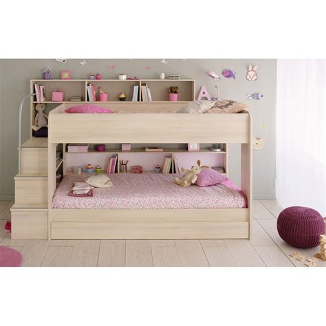 Parisot Bibop Bunk Bed Bibop Bunk Beds Light Acacia