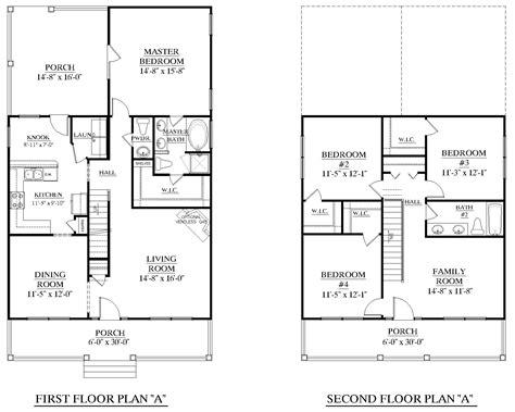 Superb Southern Floor Plans #4: PLAN-2014-A-schematic-plan.jpg