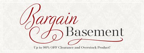 Bargain Basement Bargain Basement Outlet