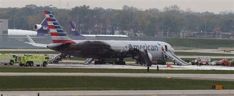 ntsb engine failure caused american airlines fire  ohare