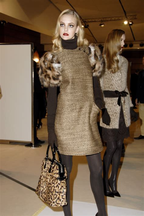 Fashion Week Fall 2007 Basso And Backstage Photos by Valentino Fall 2007 Runway Pictures Stylebistro