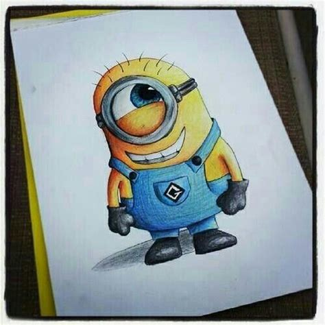 doodle draw minion minion drawing the minions cool