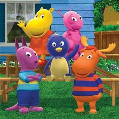 Backyardigans Black Torso And Oblong Children S Tv And Race