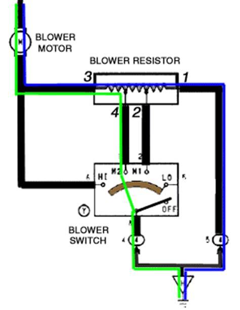 blower motor resistor operation untitled www autoshop101