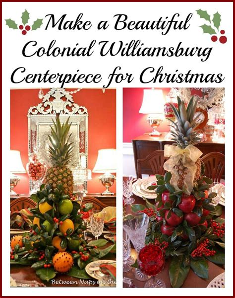 how to make a colonial williamsburg table