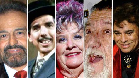 artistas que murieron agosto 2016 actrices y actores mexicanos que murieron 2016 latinos