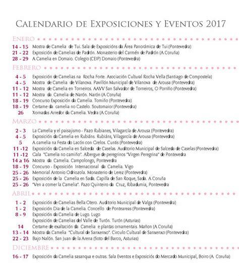 Calendario 2017 Actualizado Calendario A 241 O 2017 Y Calendario De Exposiciones De