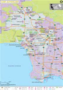 california los angeles map los angeles city maps world map photos and images