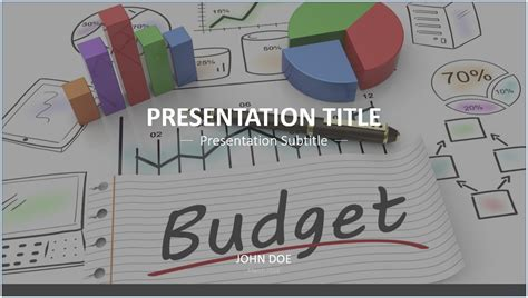 templates for budget presentation free budget powerpoint template 7677 sagefox powerpoint