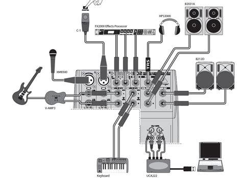 Mixer Behringer Xenyx 802 mesa de som behringer xenyx 1002fx mixer na behringer