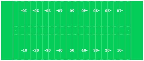An American Football Field Diagram Nfl Mode By American Football Field Diagram