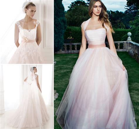 Pink Wedding Dresses Uk by Pink Wedding Dresses Confetti Co Uk